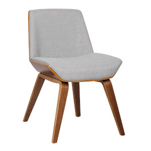 Agi Gray with Walnut Dining Chair