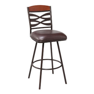 Arden Brown and Auburn Bay 26-Inch Counter Stool