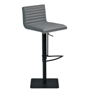 Cafe Black and Gray 32-Inch Bar Stool