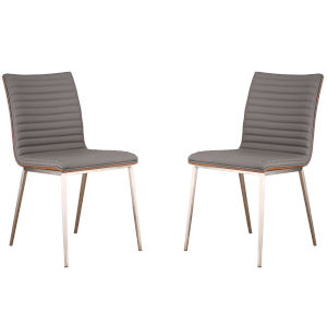 Café Gray Dining Chair, Set of Two