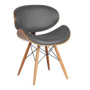 Cassie Gray with Walnut Dining Chair