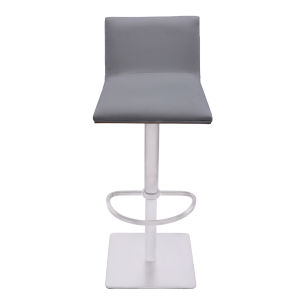 Crystal Gray and Walnut 31-Inch Bar Stool