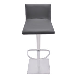 Crystal Drak Gray 31-Inch Bar Stool