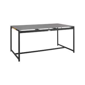 Crown Black Outdoor Dining Table