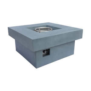 Marquee Gray Outdoor Patio Fire Pit