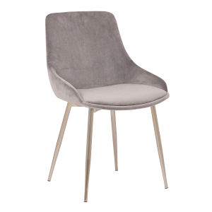 Heidi Pink with Gold Dining Chair