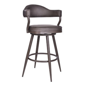 Justin Vintage Brown 26-Inch Counter Stool