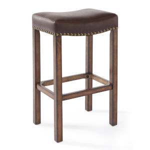Tudor Chestnut 30-Inch Bar Stool