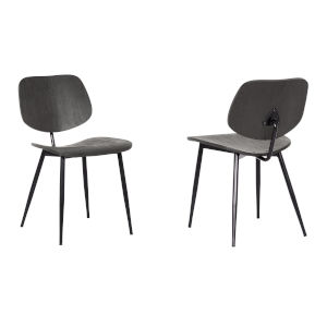 Miki Black Powder Coat Dining Chair