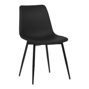 Monte Black Powder Coat Dining Chair