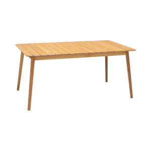 Nassau Natural Wood Outdoor Dining Table