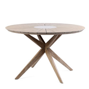Oasis Light Eucalyptus Outdoor Dining Table
