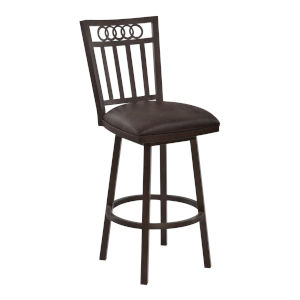 Olympia Espresso and Auburn Bay 26-Inch Counter Stool