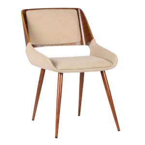 Panda Brown with Walnut Dining Chair