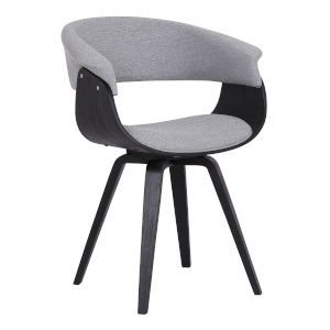 Summer Gray with Black Dining Chair