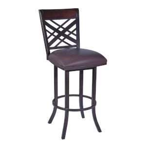 Tahiti Brown and Auburn Bay 26-Inch Counter Stool