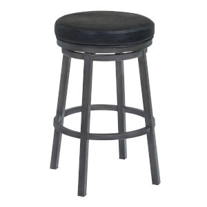 Tilden Black and Mineral  26-Inch Counter Stool