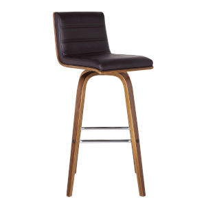 Vienna Walnut 26-Inch Counter Stool
