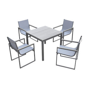 Bistro Gray Outdoor Dining Set