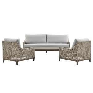 Grenada Gray Four-Piece Outdoor Four-Piece Conversation Set