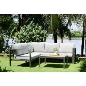 Solana Cosmos Gray Outdoor Furniture Set