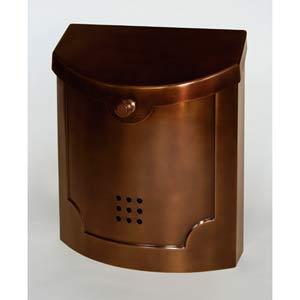 Antique Copper Brass Mailbox
