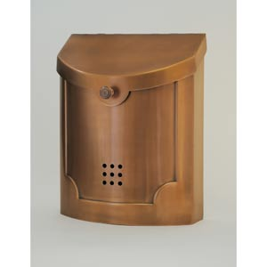Copper Brass Mailbox
