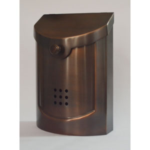 Ecco Antique Copper Mailbox