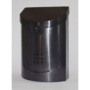 Ecco Black Pewter Mailbox