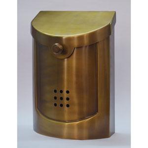 Ecco Brass Mailbox