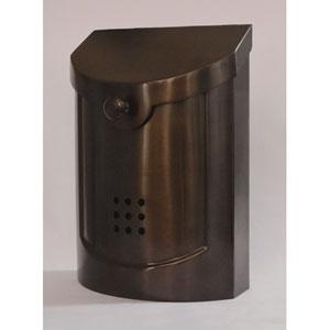 Ecco Bronze Mailbox