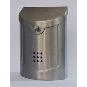 Ecco Satin Nickel Mailbox