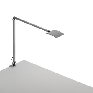 Mosso Silver LED Pro Desk Lamp with Desk Clamp