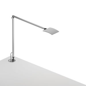 Mosso Silver LED Pro Desk Lamp with Grommet Mount