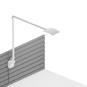 Mosso White LED Pro Desk Lamp with Slatwall Mount