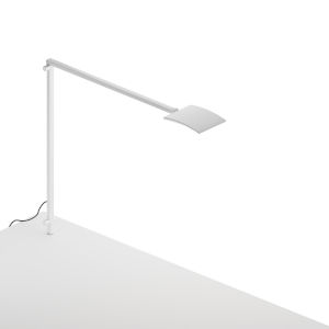 Mosso White LED Pro Desk Lamp with Through-Table Mount