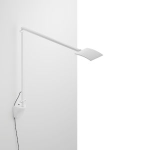 Mosso White LED Pro Desk Lamp with Wall Mount