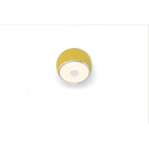 Gravy Chrome Honeydew LED Plug-In Wall Sconce