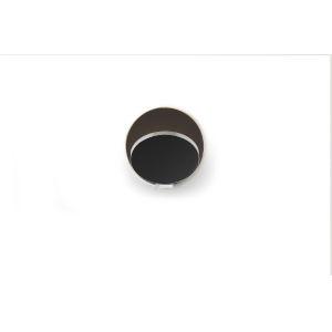Gravy Chrome Metallic Black LED Hardwire Wall Sconce