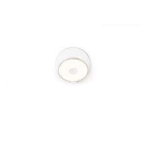Gravy Chrome Matte White LED Hardwire Wall Sconce