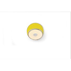 Gravy Chrome Matte Yellow LED Hardwire Wall Sconce