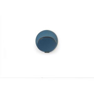 Gravy Metallic Black Azure LED Plug-In Wall Sconce