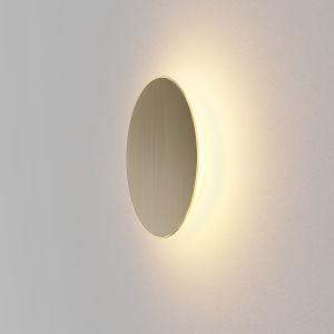 Ramen Brushed Nickel 9-Inch LED Outdoor Wall Sconce