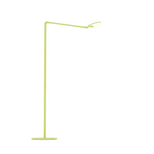 Splitty Matte Leaf Green LED Floor Lamp