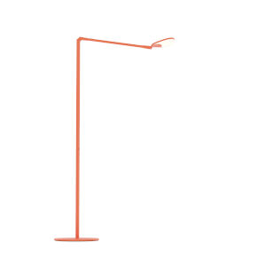 Splitty Matte Orange LED Floor Lamp