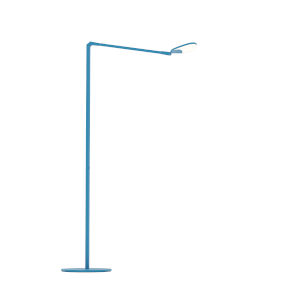 Splitty Matte Pacific Blue LED Floor Lamp
