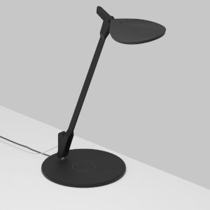 Splitty Matte Black LED Desk Lamp