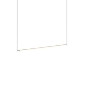 Z-Bar Silver 36-Inch LED Pendant