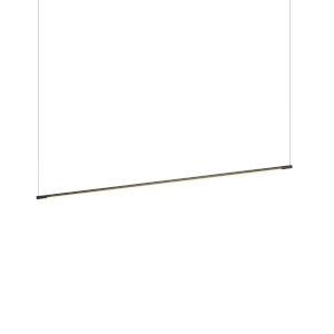 Z-Bar Matte Black 48-Inch LED Pendant