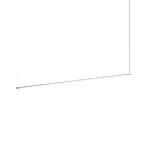 Z-Bar Silver 48-Inch LED Pendant